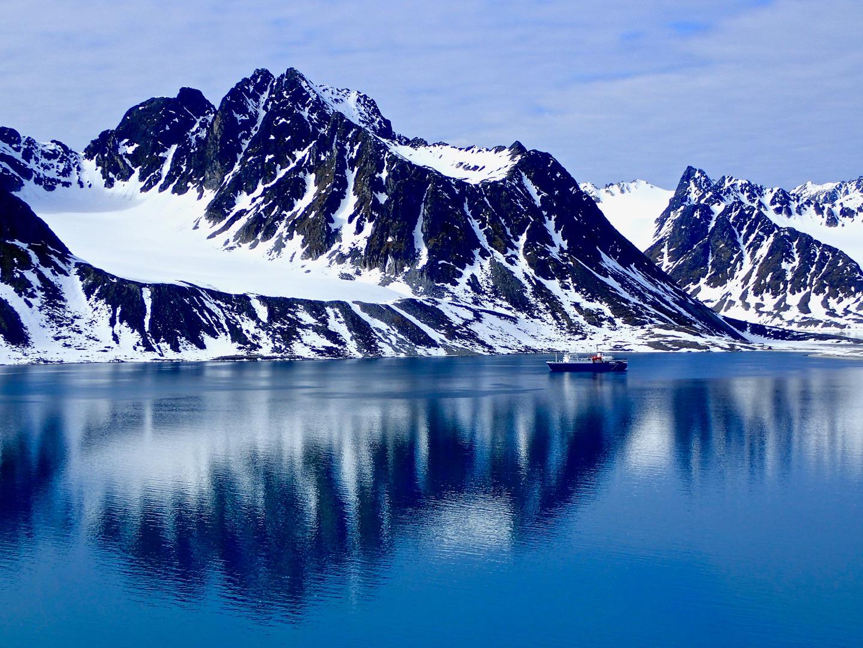 Ortelius in Svalbard