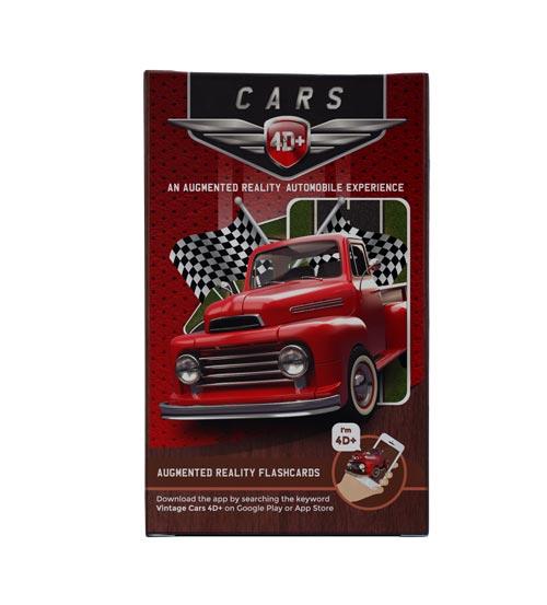 Cars 4D+ Cards