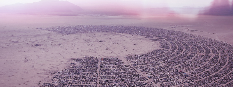 Burning Man: a sand-blasted, off-grid utopia