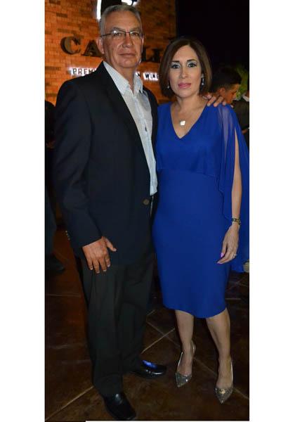 Gral. Ricardo Trevilla y Verónica Valenzuela