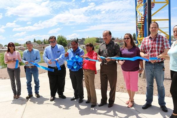 Autoridades inauguraron importantes obras en Anáhuac