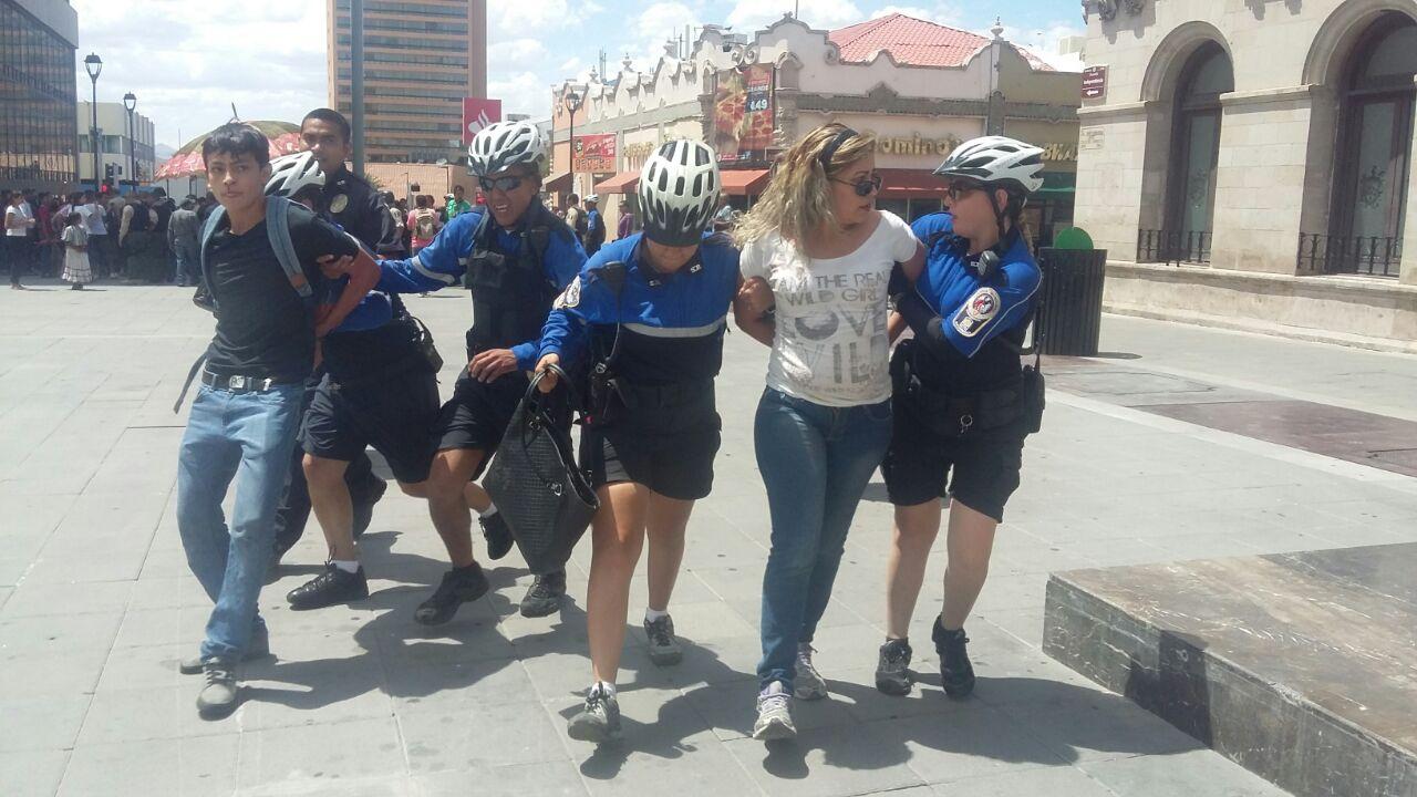Durante la detención