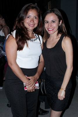 Guadalupe Aguilar Cáceres y Mayela Herrera Delong
