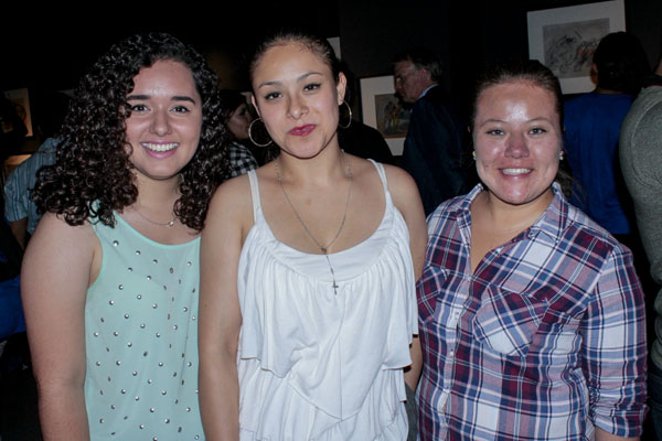Mabel Peñuñuri, Analine Sánchez Huerta y Nancy Cacho