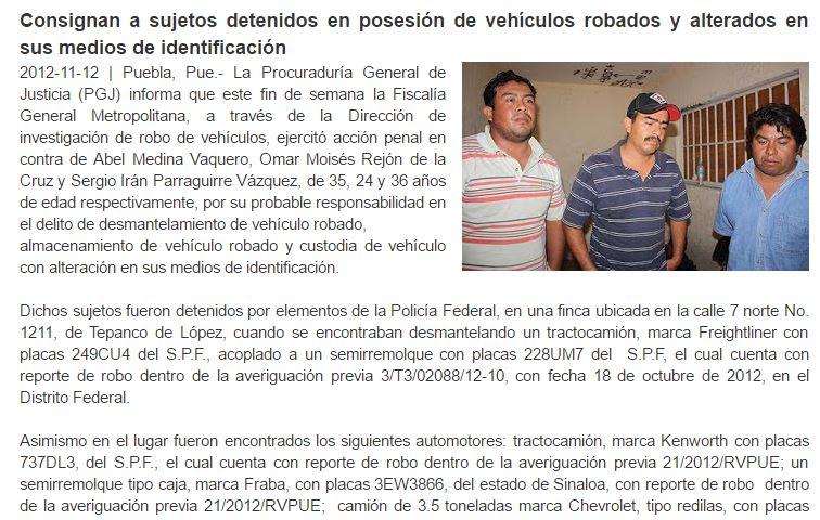 Al parecer las autoridades municipales desconocen que este nuevo director estuvo relacionado en un delito grave o pensaron que nadie se acordaría de su detención el 11 de diciembre de 2012. Foto: Iván Rodríguez
