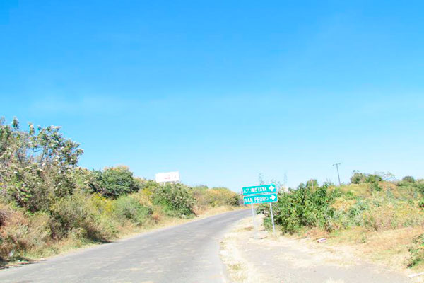 La carretera a Atlimeyaya es una larga y curvosa pendiente desde donde se puede observar el valle de Atlixco.