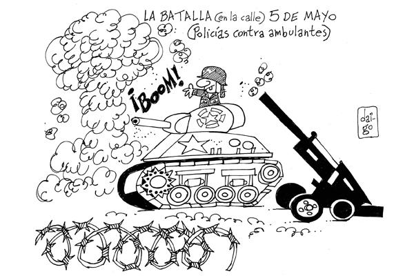 La batalla (en la calle) 5 de mayo