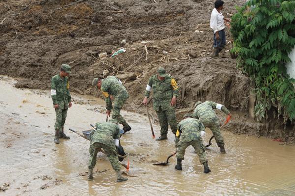 Alerta amarilla por lluvias en Huauchinango; piden evacuar 10 colonias