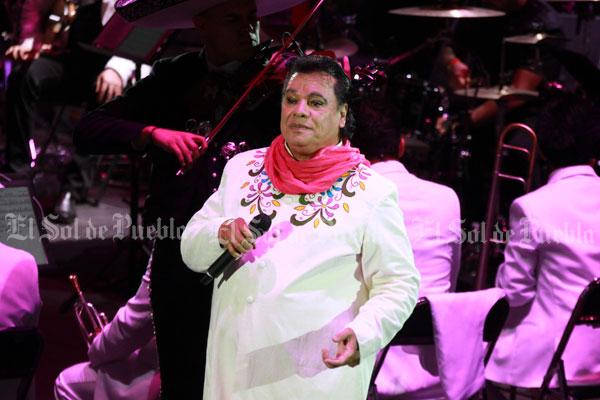 Fue en Puebla el último concierto de Juan Gabriel en México