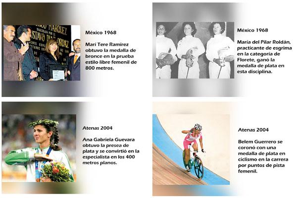 Mujeres Olímpicas que han dado 16 medallas a México