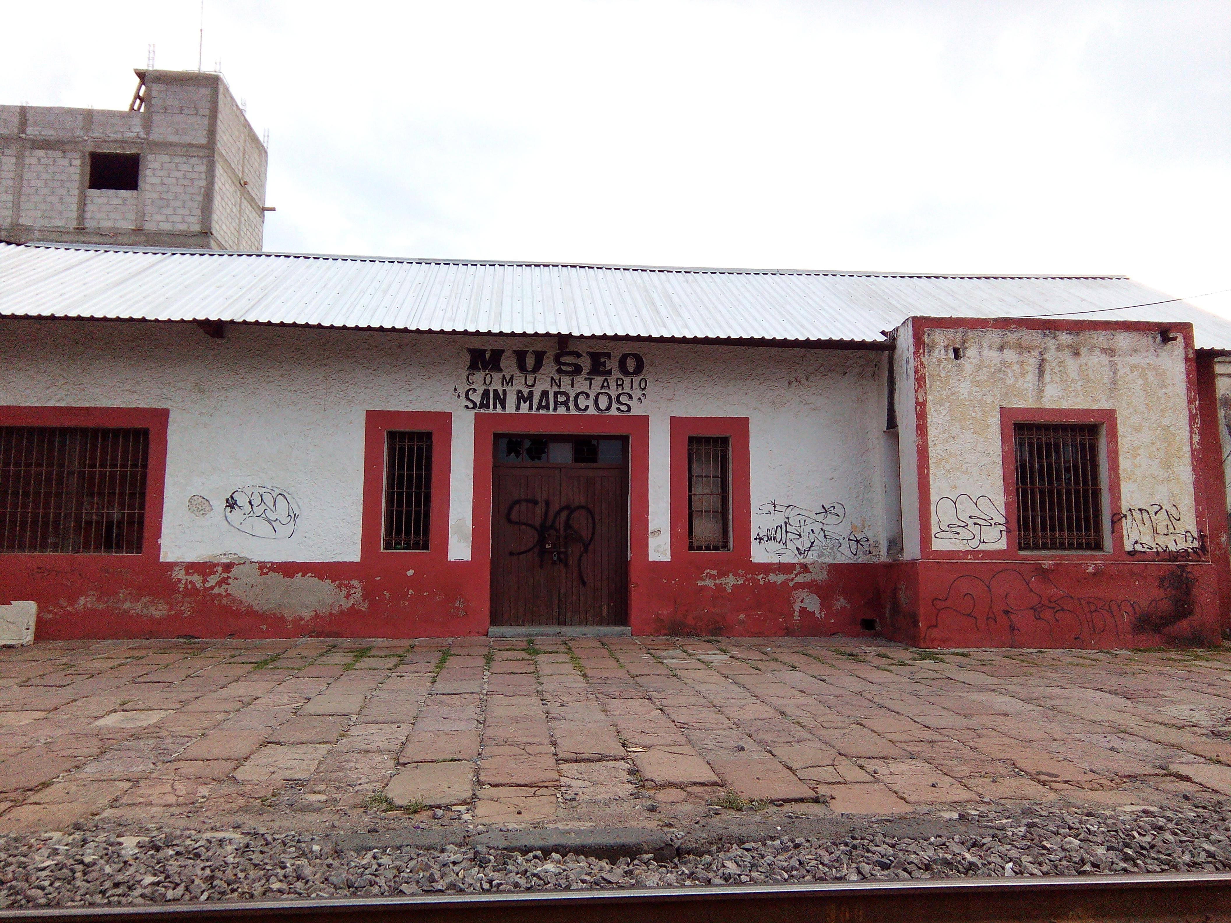 """Abandonan el Museo del Ferrocarril """"San Marcos"""" y puente ferroviario ..."""