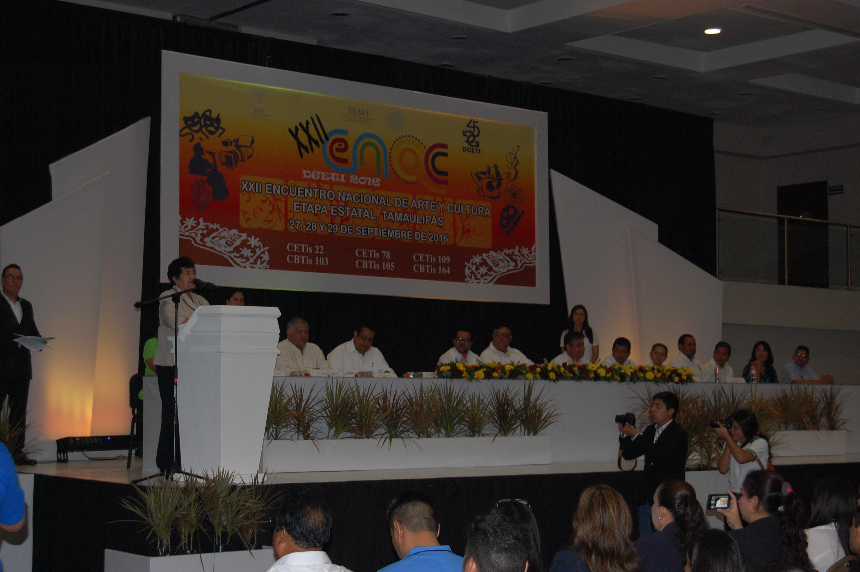 Inauguran el XXII ENAC DGETI 2016