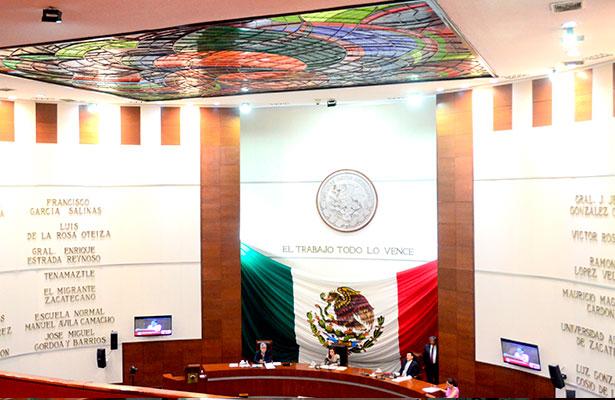 A cada diputado le corresponde manejar un total de nueve millones 745 mil 802.83 pesos. Foto: Osvaldo Martínez / El Sol de Zacatecas / OEM