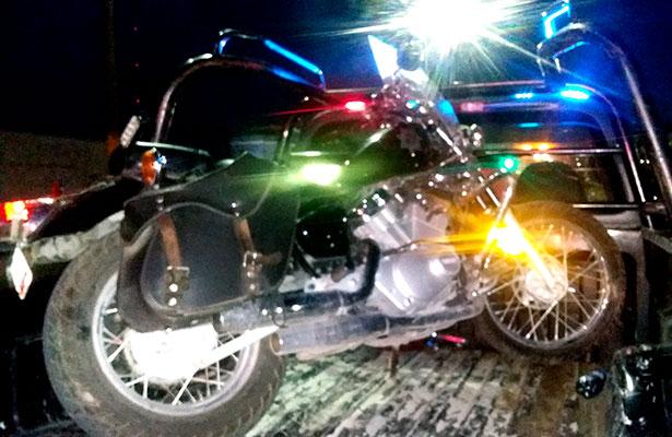 Delegado de Tránsito sufre accidente vial