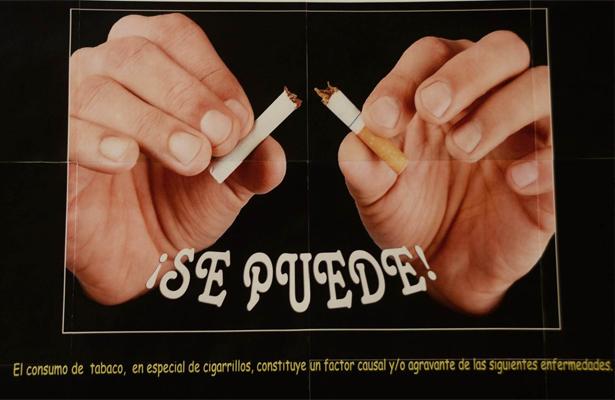 En México mueren al año más de 40 mil personas por tabaquismo