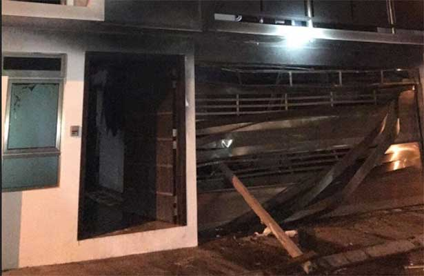 Atacan casa de líder panista en Veracruz