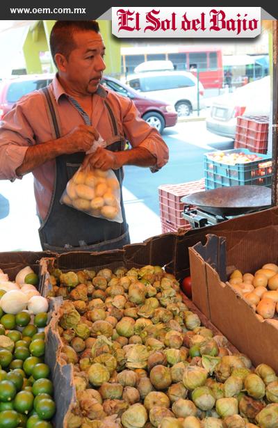 Por las nubes los precios de las verduras