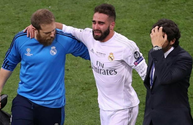 Dani Carvajal se perderá la Eurocopa