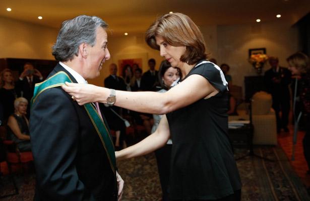 Gobierno de Colombia condecora a José Antonio Meade