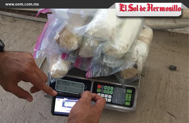 """Policía Federal decomisa más de 8 kilos de """"crystal"""""""