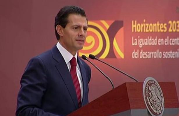 México comprometido en el desarrollo sostenible de América Latina: EPN
