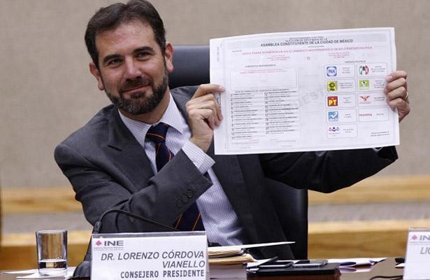 Capitalinos deben ejercer voto informado: Lorenzo Córdova