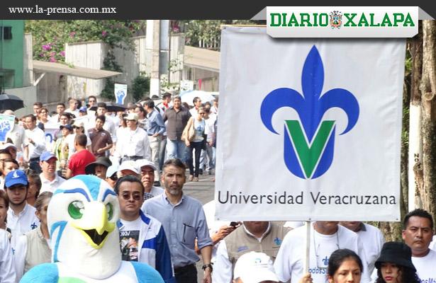 Marcha Universidad Veracruzana
