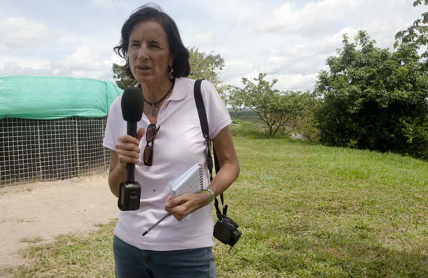 La Guerrilla del ELN libera a periodista española secuestrada en Colombia