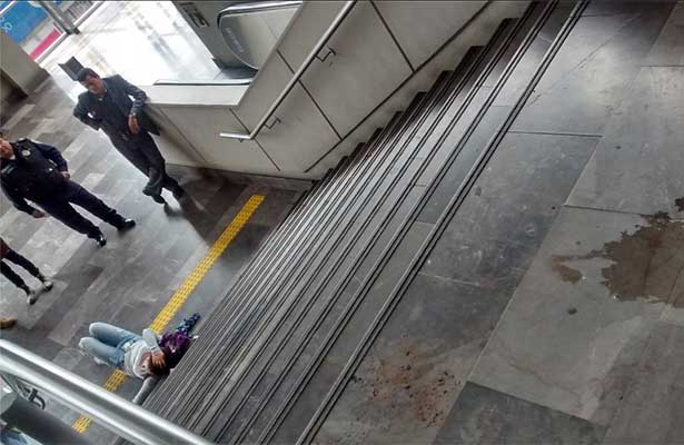 Se deslinda el metro de accidentes dentro