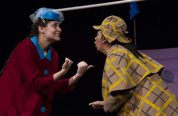 """Obra de teatro, """"El misterio del circo donde nadie oyó nada"""""""