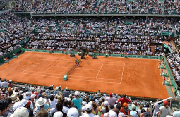 Lluvia obliga a cancelar toda la jornada del lunes en Roland Garros
