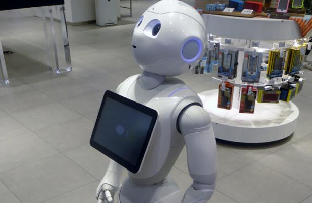 Pepper, robot que recibe a los pacientes en hospitales de Bélgica