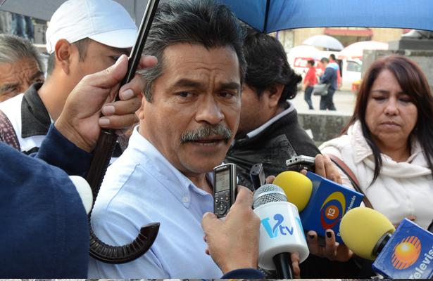 Líder del CNTE detenido