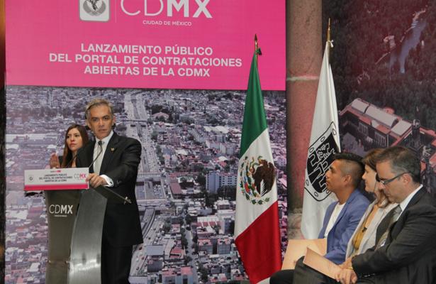 CDMX primera urbe del mundo en tener una plataforma avalada por la organización OCP