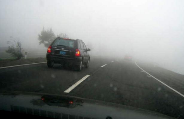 Alertan por neblina en la carretera México-Toluca