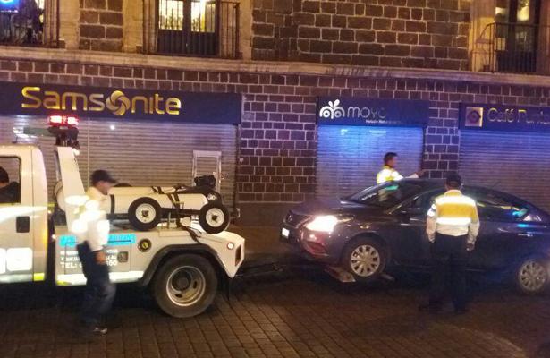 Polícia de la CDMX vs arrancones