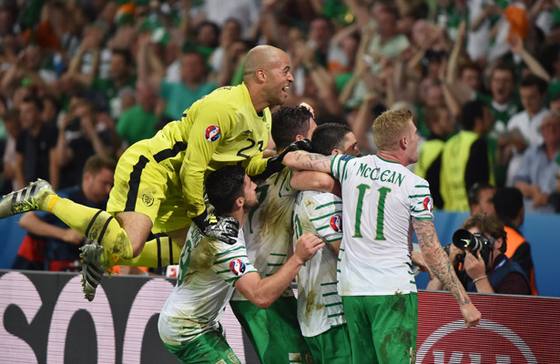 Derrota Irlanda 1-0 a Italia