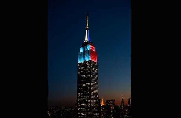 El Empire State de colores Argentina-Chile