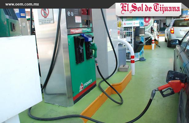 Tijuana con gasolina más cara de la frontera norte