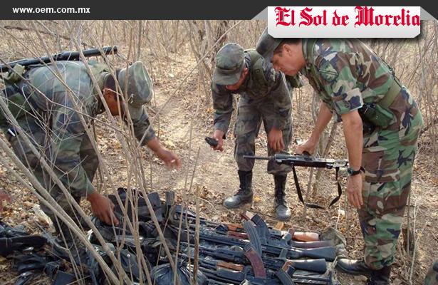 Destruirá Sedena 2 mil 677 armas decomisadas