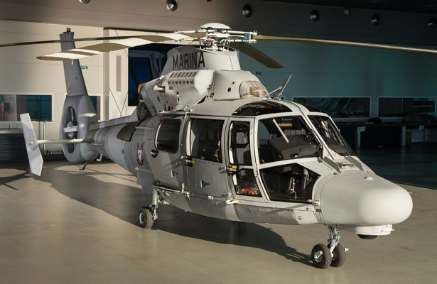 La SEMAR recibió primer Helicóptero Panther AS-565MBE