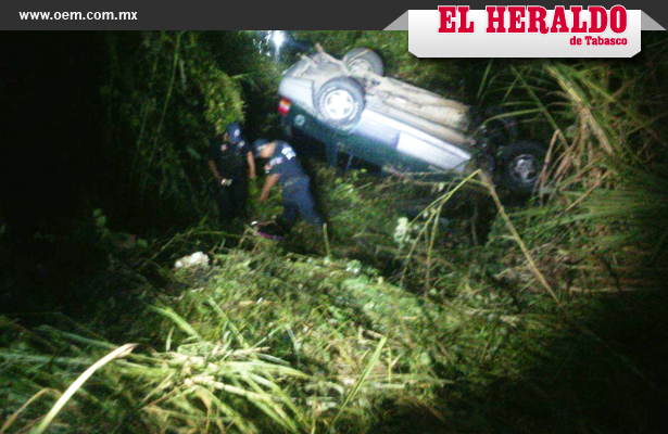SSP rescata a migrantes que sufrieron accidente en Tabasco
