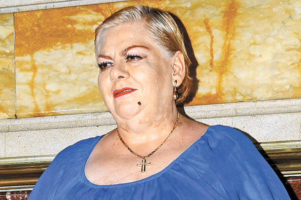 """Paquita la del Barrio pide no hacer """"escándalo"""""""