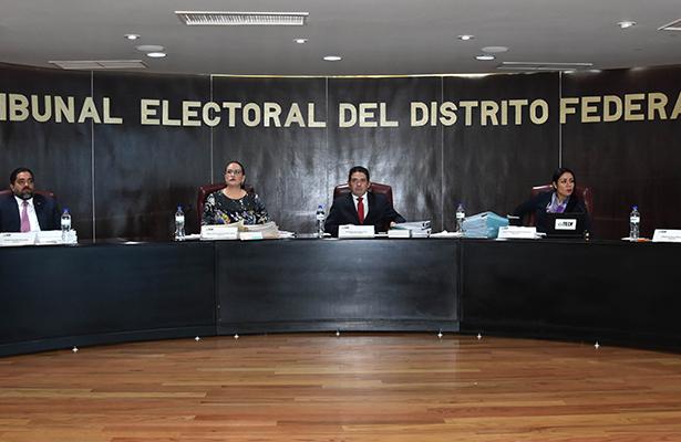 Confirma TEDF elección de comités ciudadanos en AO, Cuauhtémoc e Iztapalapa