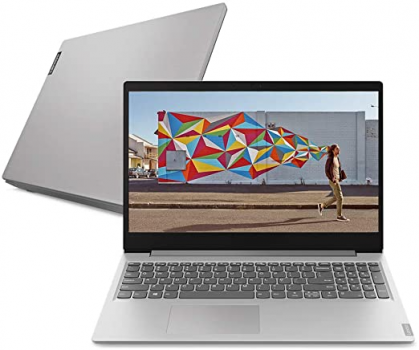 Notebook Lenovo Ultrafino IdeaPad S145, AMD Ryzen 5, 8GB RAM, 1TB HD, Linux 15.6″, Prata
