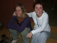 Anette og Nina in Africa