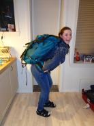 Anna og Anettes Backpackertur