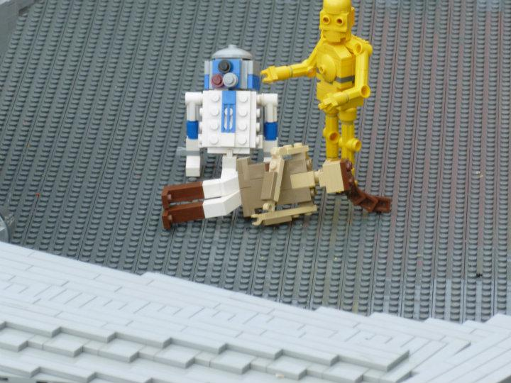 R2d2 And C3po Lego Lego Star Wars , R2-D2...