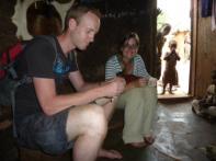 Astrid's afstudeerstage in Ghana