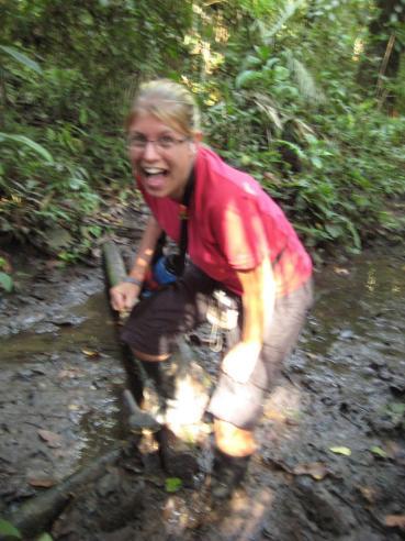 Kim Wellies Stuck In The Mud Exploring South America